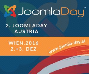 Joomla Day 2016 - Wir waren dabei!